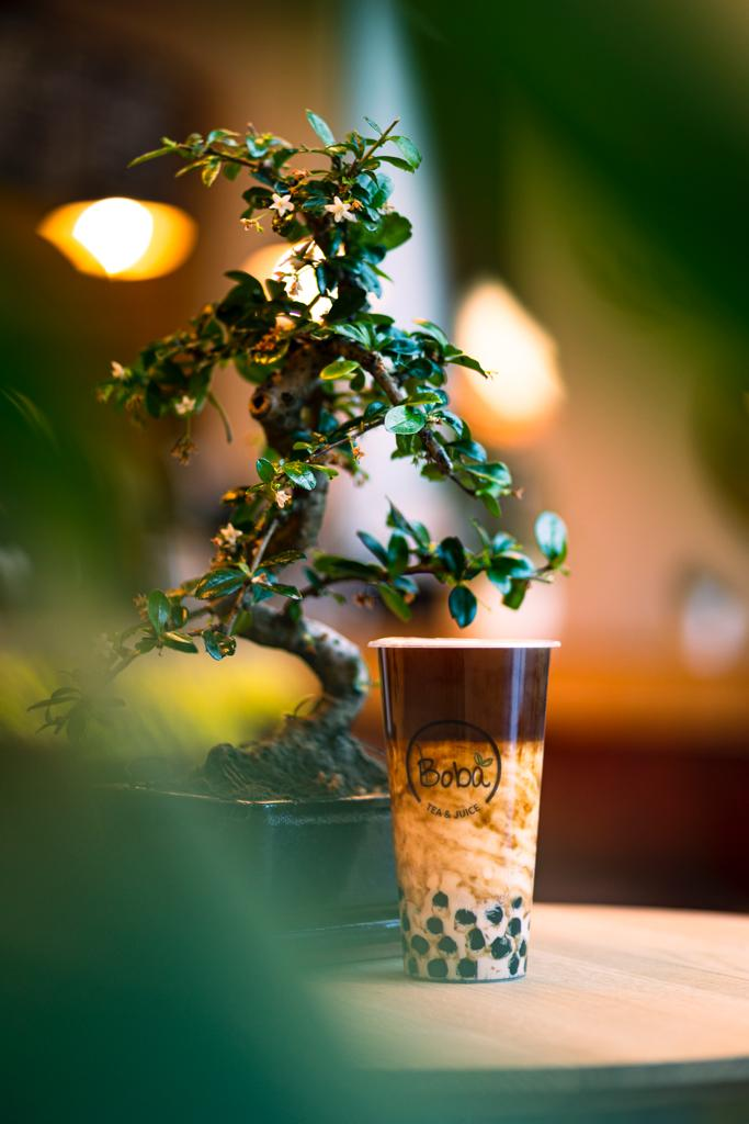 Coffee Bubble Milk