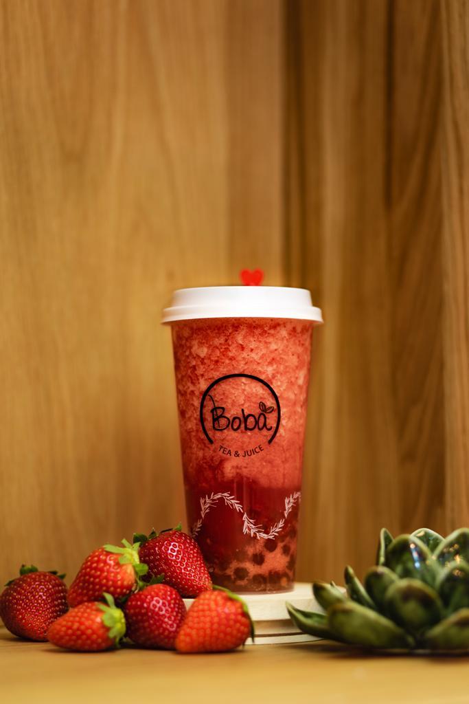Fresh Fruit Infused Tea – Strawberry